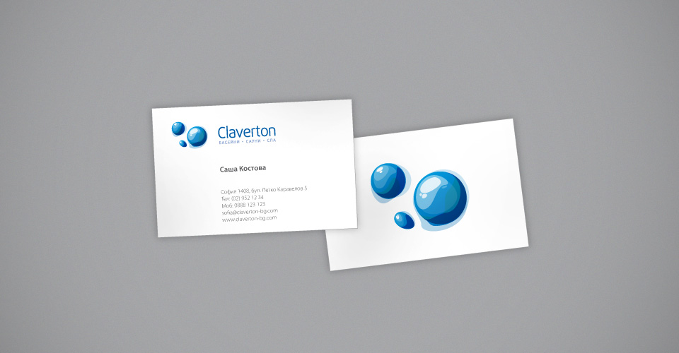 Pool Logo Design elegant modern logo design by ldesigns Below We Present To You Another Variant From The Claverton Corporate Identity Lets Go To The Swimming Pool And The Sauna