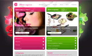 Web design and store development for