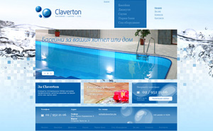 Logo, website design and development, and corporate materials for Claverton International