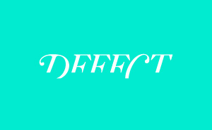 Logo design and online shop development of Defect.bg