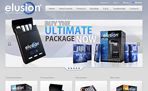 Online shop development for Elusion