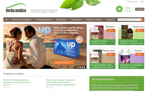 Online store development for Herbamedica with Magento