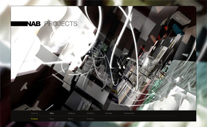 Corporate style design and website design and development for NAB Architects