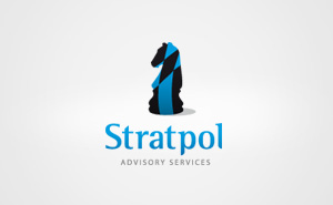 Logo design and corporate materials for Stratpol Advisory Services