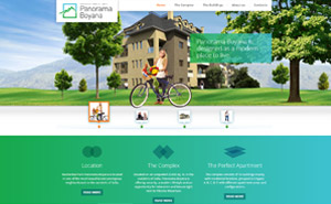 Website development for Panorama Boyana
